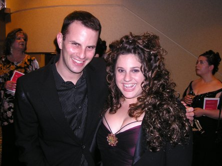 Melissa Jaret Winokur at the Tonys