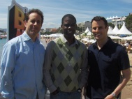 Jerry Seinfeld and Chris Rock in Cannes